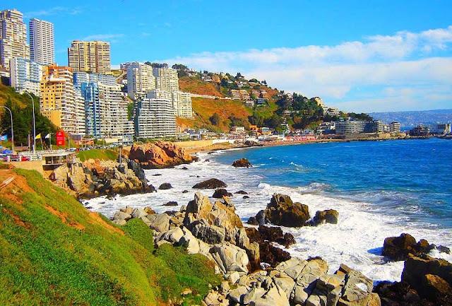 Passeio para Vinã del Mar e Valparaíso em Santiago