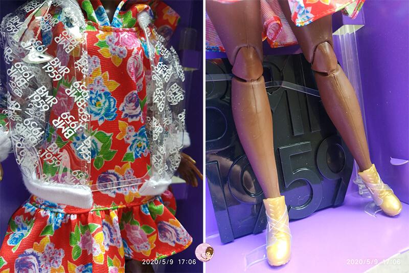 Curvy Barbie clothes
