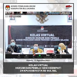Kelas Virtual Hukum Dan Pemilu (Sesi Keempat)