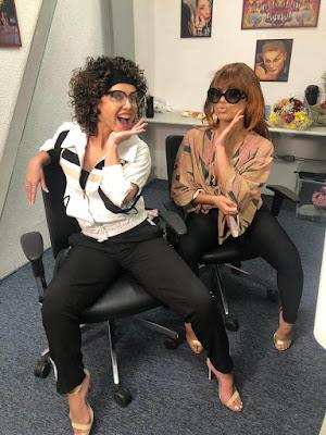 Eliana e Lexa disfarçadas para pegadinha com fã da cantora (Divulgação/SBT)
