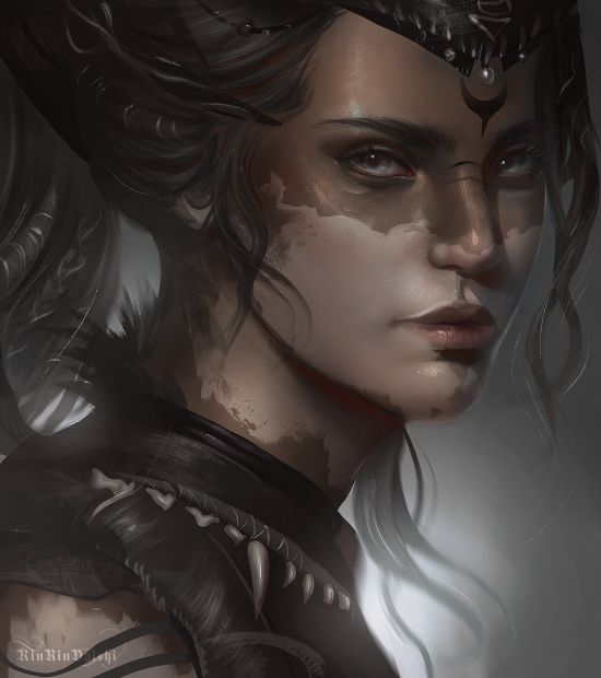 Karolina Nakazato artstation arte ilustrações games fantasia mulheres