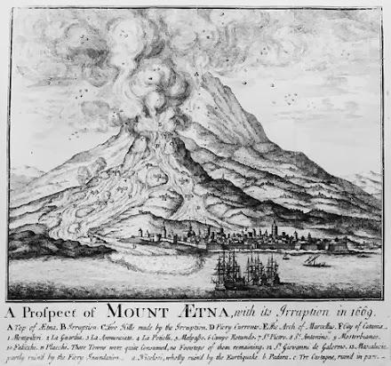 Η έκρηξη της Αίτνας [11 Μαρτίου 1669]