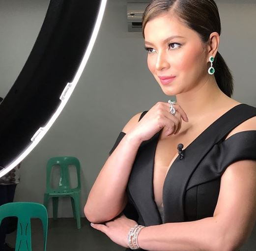 Angel Locsin Was Smoking Hot In The Sexy Black Dress She Wore On The Finale Of