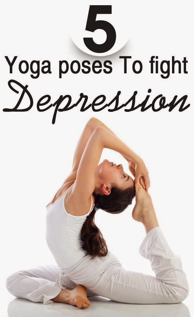 yoga poses to tight depression