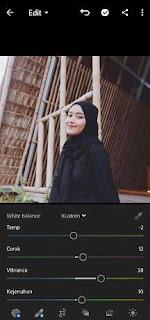 cara edit foto instagramable di lightroom hp android