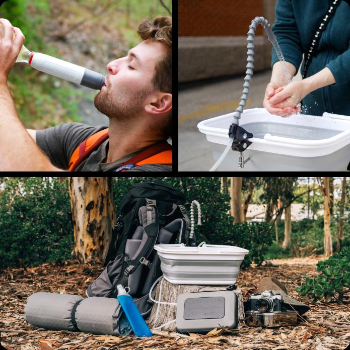 портативная система очистки воды | GoSun