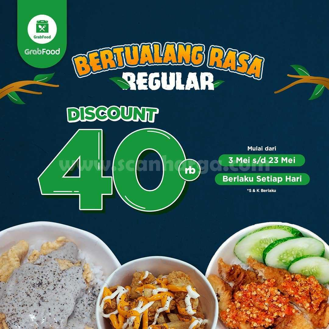 Promo DORI NOW Diskon Rp 40Ribu khusus pemesanan via GRABFOOD