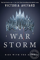War Storm by Victoria Aveyard book cover and review