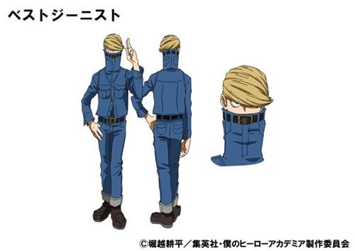 เบสต์ ยีนิสต์ (Best Jeanist) @ My Hero Academia: Boku no Hero Academia มายฮีโร่ อคาเดเมีย