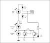 SKEMA LED CLIP SIGNAL DAN POWER AMPLIFIER