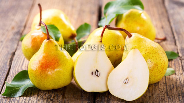 Benefits of pear fruit efficacy for body health