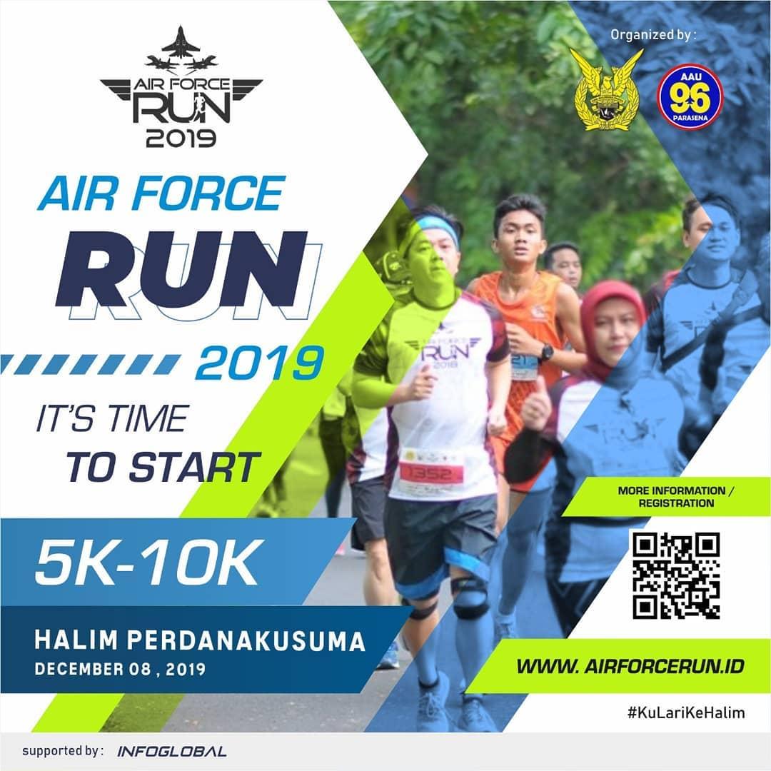 Air Force Run - Indonesia • 2019