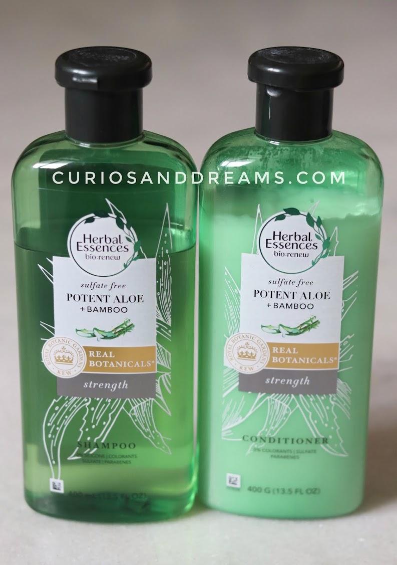 Herbal Essences Aloe + Bamboo Shampoo & Conditioner, Herbal Essences Aloe + Bamboo Shampoo & Conditioner review, Herbal Essences Shampoo & Conditioner, Herbal Essences India