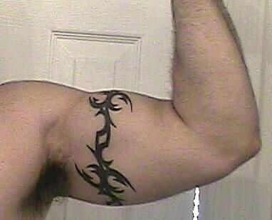 Tribal Arm Tattoo Band