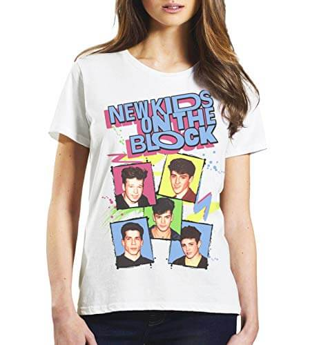 New Kids on the Block 80s T-shirt