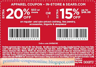 photo about Sears Coupons Printable known as Sears coupon codes on-line elements - Ideal bargains resorts boston