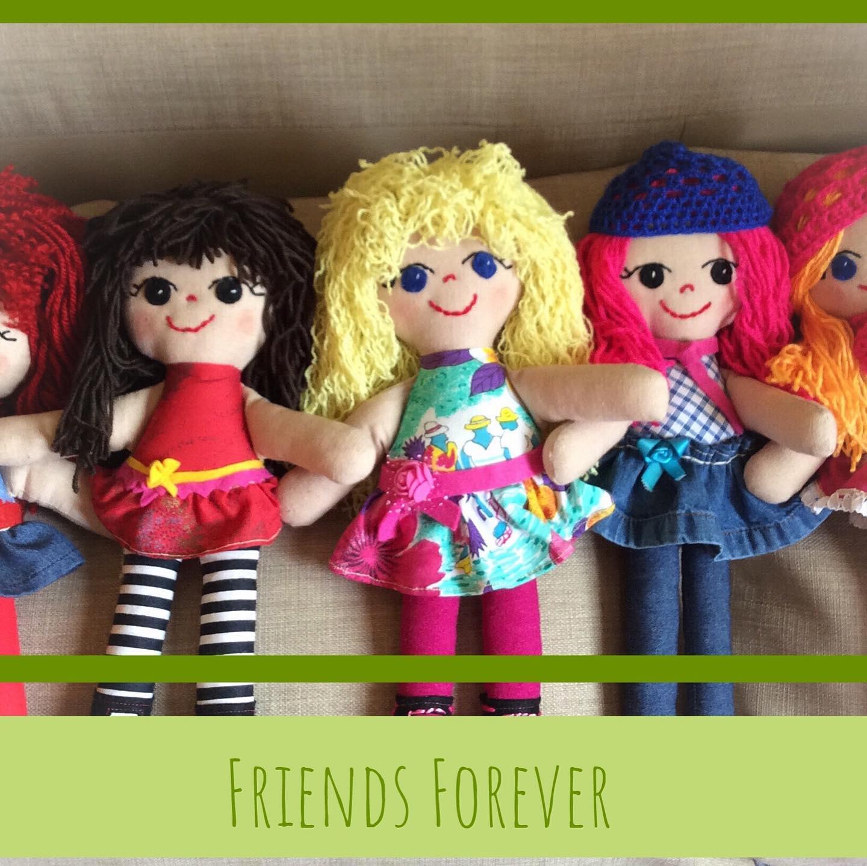 ألعاب أطفال جديدة - مجموعة الأصدقاء