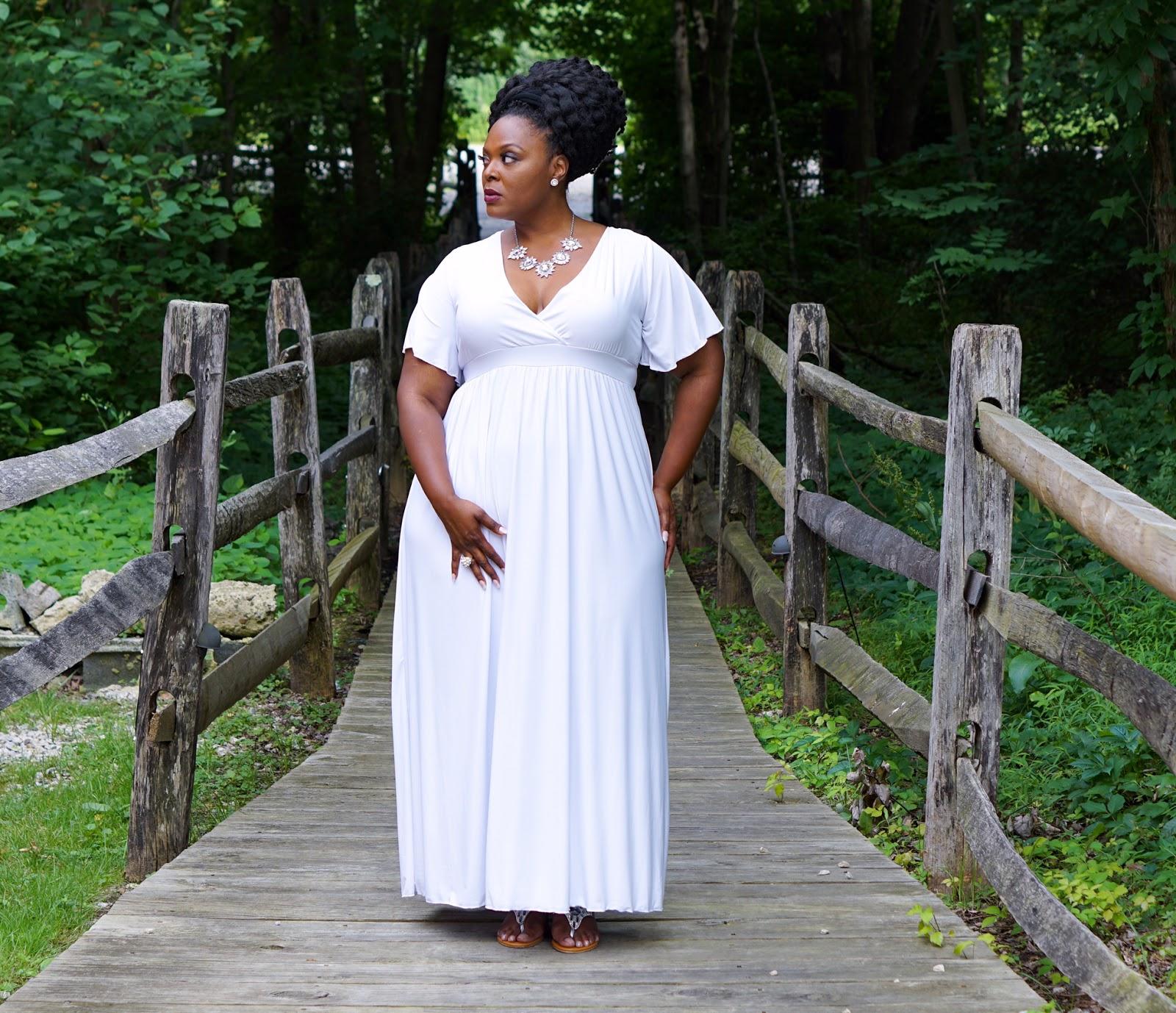 white plus size dress, plus size white maxidress, swak designs maxidress, swak designs white dress