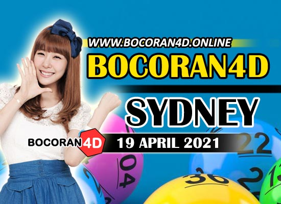 Bocoran Togel 4D Sydney 19 April 2021