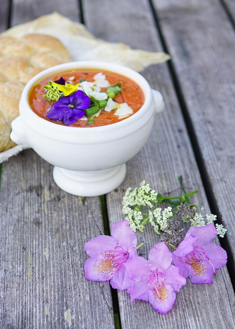 gazpacho, kylmä_keitto, kesäruoka