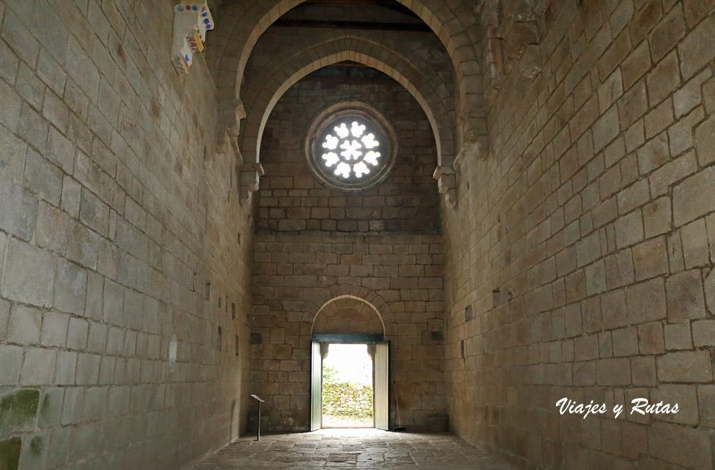 Interior de la iglesia de Santa Cristina de Ribas de Sil, Ourense