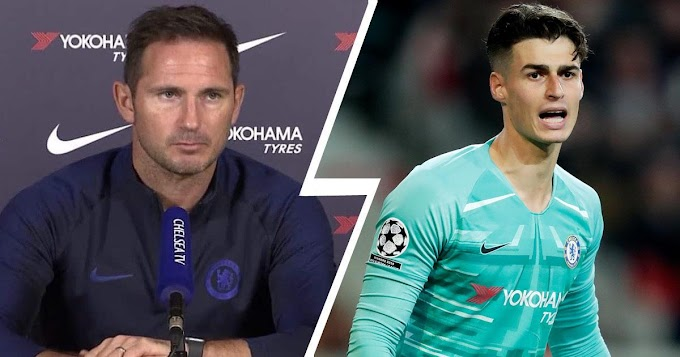 'I will have conversations with all the goalkeepers': Chelsea boss Lampard refuse to comment on possible loan deal for Kepa