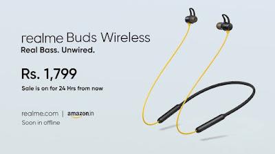 شركة Realme sBuds Wireles ب25 دولار فقط