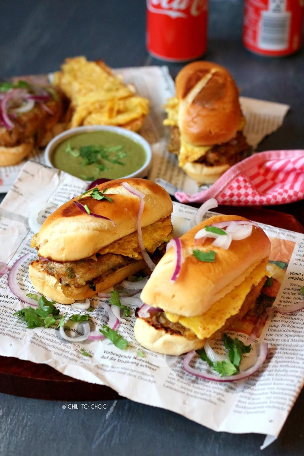 Street-Style Bun Kabab