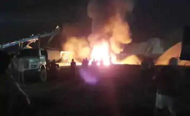 झारखंड:पलामू में नक्सलियों का तांडव, क्रशर प्लांट में आगजनी और बम विस्फोट