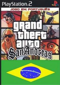 Capa do jogo (GTA: SAN ANDREAS PS2) site: Jogo sem vírus