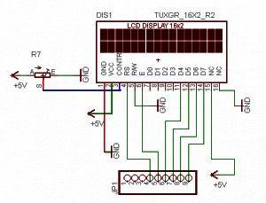 Rangkaian LCD 16x02