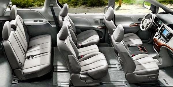 2015 Toyota Sienna vs 2015 Honda Odyssey and Driver