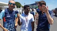 Robert Kubica Karun Chandhok Robs Smedley F1 Williams