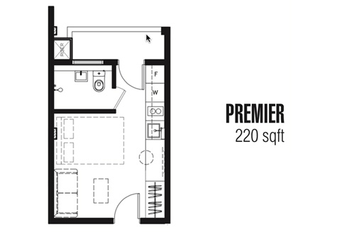 One Tree at Outram Premier Suites - Floor Plan