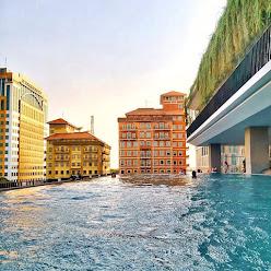 Infinty Pool Kekinian Harga Terjangkau Di De Entrence Arkadia Cocok Untuk Kaum Rebahan