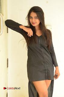 Neha Deshpande Pictures in Black Short Dress at Bullet Movie Opening ~ Celebs Next