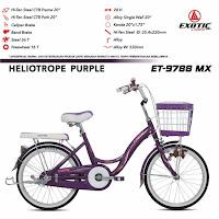 Sepeda Urban Exotic ET9788MX Mini Comfort Junior City Bike