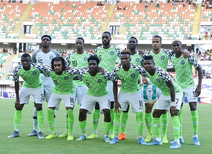 Super Eagles Probable Starting Eleven For Lesotho