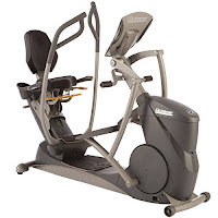 Octane Fitness xR6000 Recumbent Elliptical, commercial-grade, with Power Stroke technology, 30 resistance levels, choice of 17 programs on smart console or 14 programs on standard console