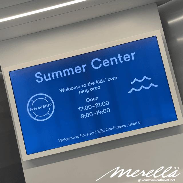 Silja Line Summer Center
