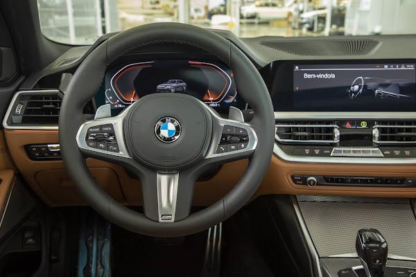 BMW Série 3 2021 ganha motor flex e novidades - veja preços (Brasil)