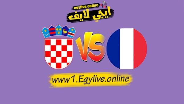 نتيجه مباراة فرنسا وكرواتيا بث مباشر بتاريخ 08-09-2020 دوري الأمم الأوروبية