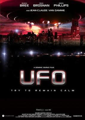 U.F.O. (Alien Uprising) 2013 DVD R1 NTSC Latino