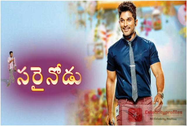 Sarrainodu 2016 Telugu Movie DVDScr Download