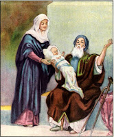 4. Simeon Blesses the Child Jesus