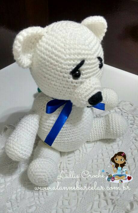 Balloon: Família urso – PT/BR | Urso de crochê, Bonecas de crochê ... | 709x459