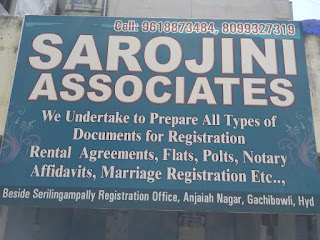 Document writers in serilingampally,Gachibowli  Hyderabad