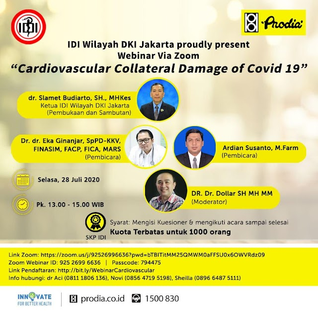 "Webinar ""Carsiovascular Collateral Damage of Covid19"""