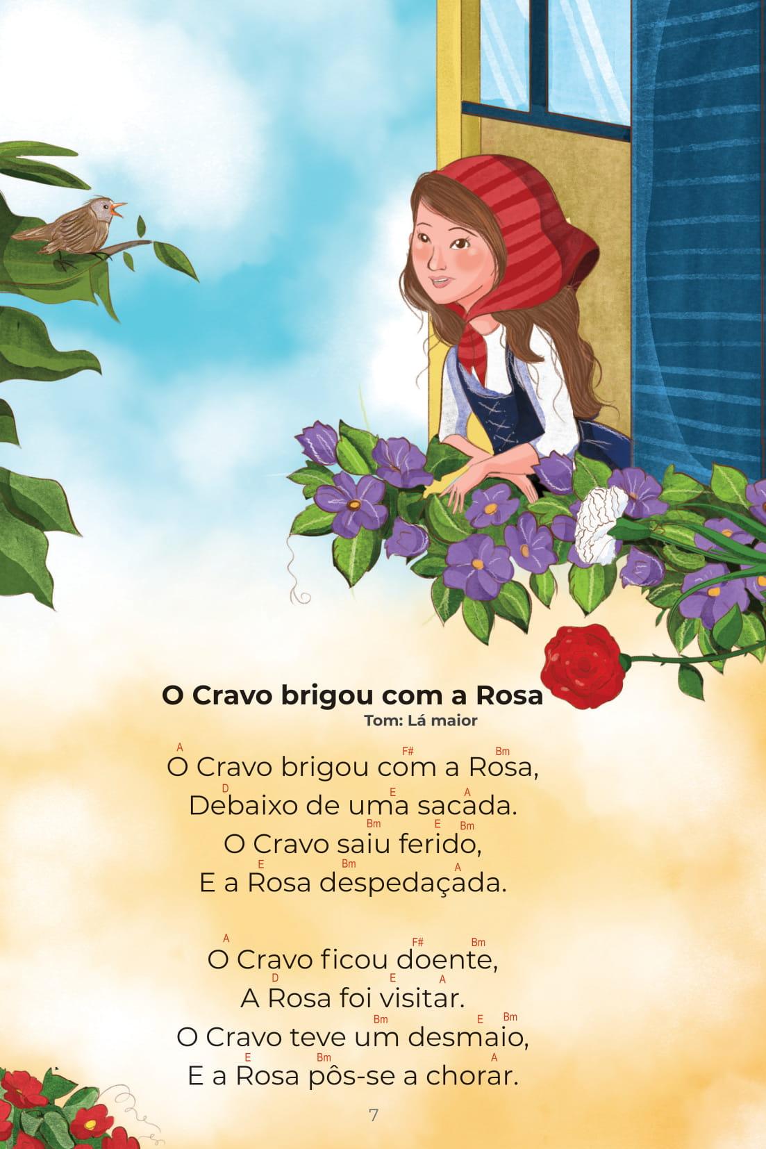 Cantigas Coleção Conta pra Mim O Cravo brigou com a Rosa