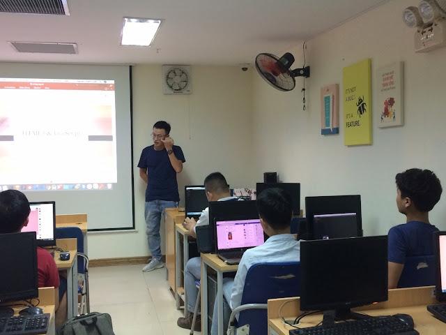 Lớp HTML5, JS miễn phí tháng 7/2019